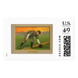 Johnny Evers Cubs Baseball 1911 Postage