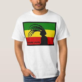johnny fife rasta flag cheap T T Shirt
