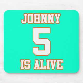 Johnny Five is Alive Mouse Pad