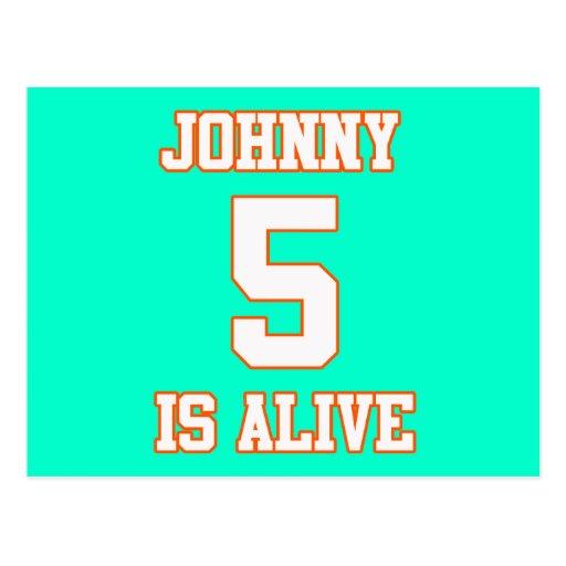 Johnny Five is Alive Postcard