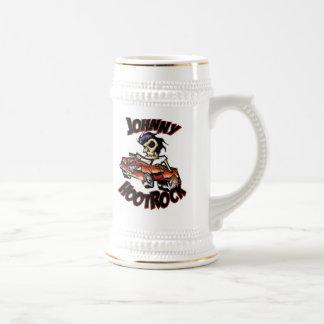 JOHNNY HOOTROCK stein 18 Oz Beer Stein