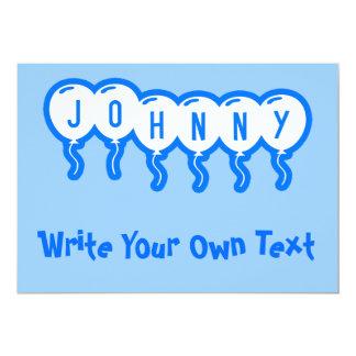 Johnny Invitación 12,7 X 17,8 Cm