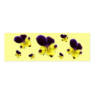 Johnny Jump Up Bookmark Double-Sided Mini Business Cards (Pack Of 20)
