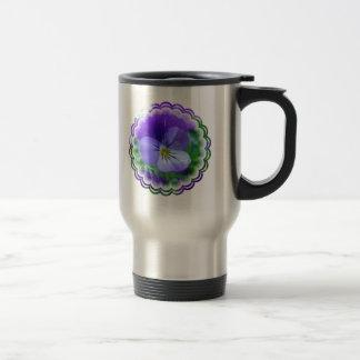 Johnny Jump Up Design Stainless Travel Mug