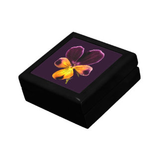 Johnny Jump Up Flower Purple Floral Gift Box