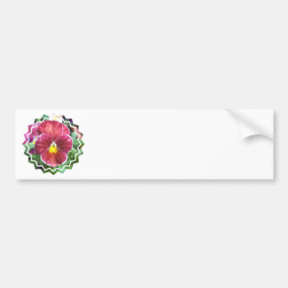 Johnny Jump Up Flowers Bumper Stickers