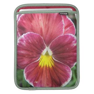 Johnny Jump Up Flowers iPad Sleeve