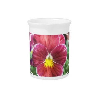 Johnny Jump Up Flowers Pitcher