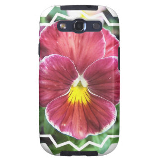 Johnny Jump Up Flowers Samsung Galaxy Case Samsung Galaxy SIII Covers