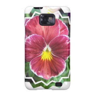 Johnny Jump Up Flowers Samsung Galaxy Case