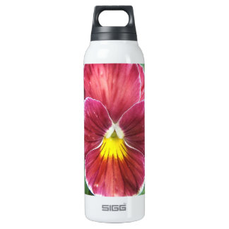 Johnny Jump Up Flowers 16 Oz Insulated SIGG Thermos Water Bottle