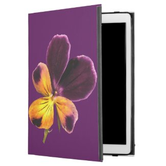 Johnny Jump Up Purple Yellow Flower iPad Pro Case