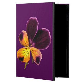 Johnny Jump Up Yellow Purple Flower iPad Air Cover