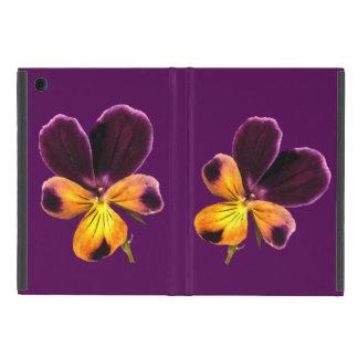 Johnny Jump Up Yellow Purple Flower iPad Mini Case
