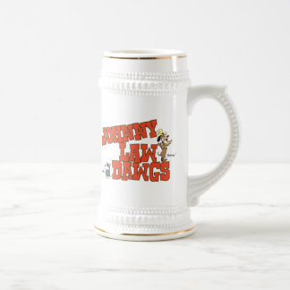 Johnny Law Dawgs Beer Stein