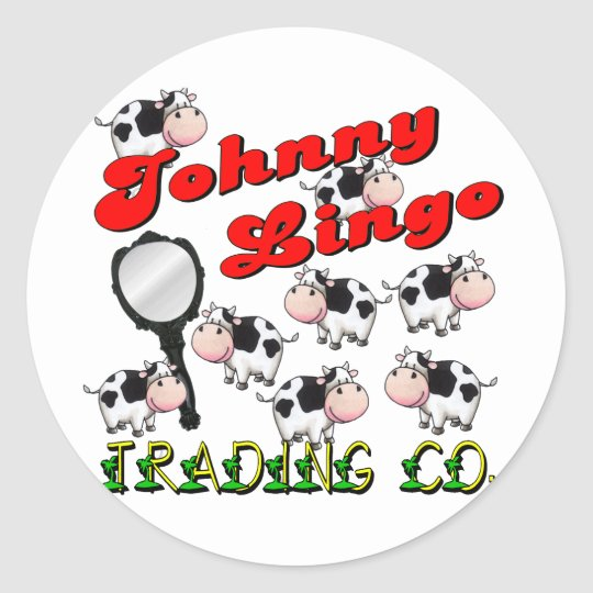 Johnny Lingo Trading Co. Classic Round Sticker