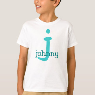 Johnny Name T (surf color scheme) T-Shirt
