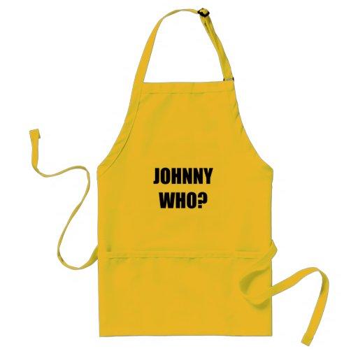 Johnny que delantal