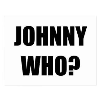 Johnny que postal