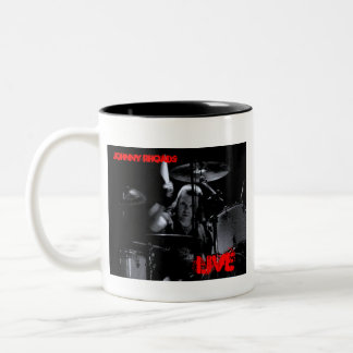 Johnny Rhoads, LIVE Two-Tone Coffee Mug
