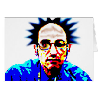Johnny Rotten Says Hi Card