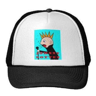 Johnny Rotten Trucker Hat