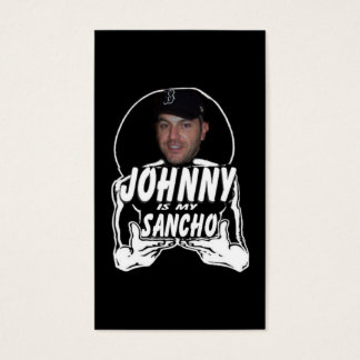 Johnny the Sancho Business Card