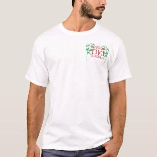 "Johnny Tiki #11 Tequila Bottles Jersey ""T"" T-Shirt"