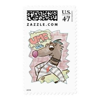 Johnny Weasel Stamp