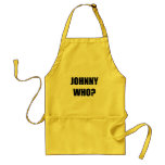 Johnny Who Adult Apron