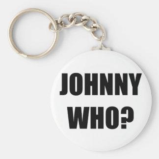 Johnny Who Keychain