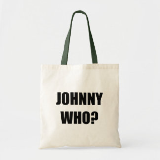 Johnny Who Tote Bag