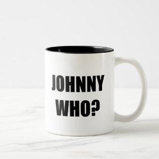 Johnny Who Two-Tone Coffee Mug