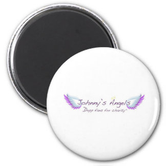 Johnny's Angels Button Magnet