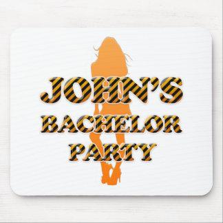 John's Bachelor Party Mouse Pad