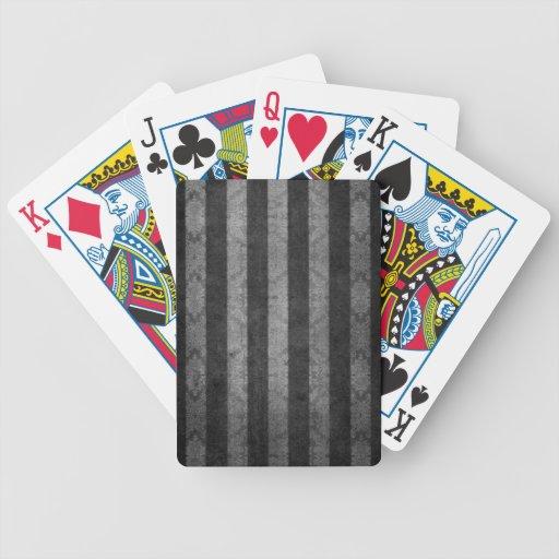 Johns creative stripes bicycle card decks