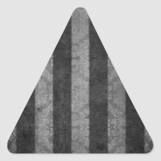 Johns creative stripes triangle sticker