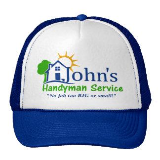 Johns Handyman Services Trucker Hat