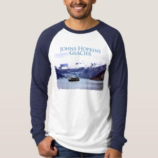 Johns Hopkins Glacier Basic Long Sleeve Raglan T-Shirt
