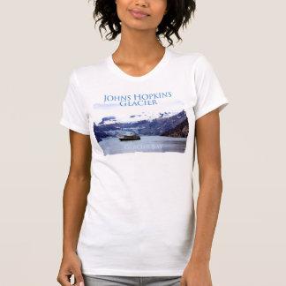 Johns Hopkins Glacier Ladies Petite T-Shirt