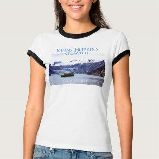 Johns Hopkins Glacier Ladies Ringer T-Shirt