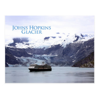 Johns Hopkins Glacier Postcard
