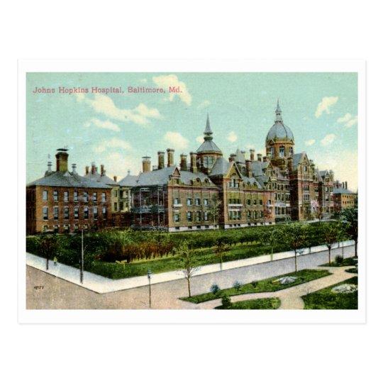 Johns Hopkins Hospital, Baltimore 1910 Vintage Postcard