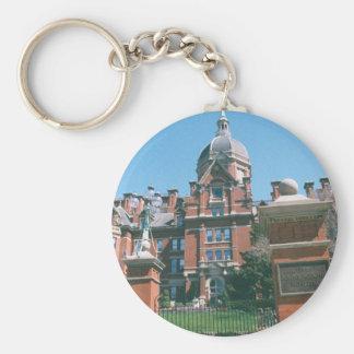 Johns Hopkins Hospital Basic Round Button Keychain
