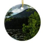Johns Lake II at Glacier National Park Ceramic Ornament