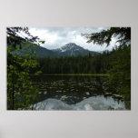 Johns Lake II at Glacier National Park Poster