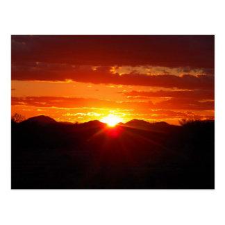 John's Sunset As I Cleaned Garage- Post Cards