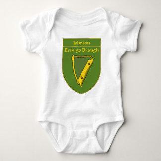 Johnson 1798 Flag Shield Baby Bodysuit