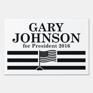 Johnson 2016 lawn sign