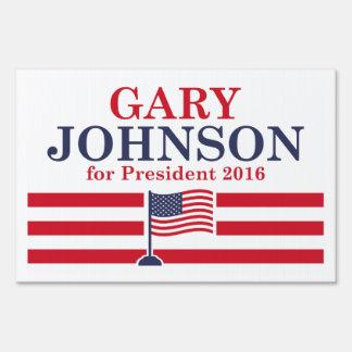 Johnson 2016 sign